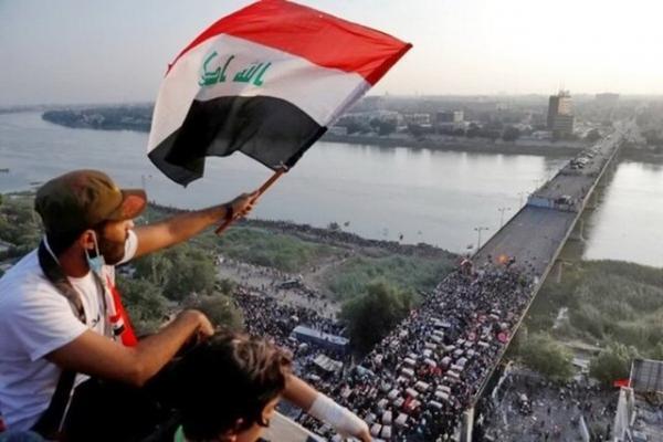 معترضان عراقی راستا ذی قار- میسان را بستند